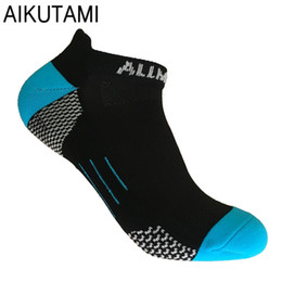 socks for bike Promo Codes - Outdoor Running Socks for Men and Women Elastic Breathable Dry Fit Compression Sport Socks for Bike Cycling Basketball
