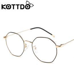 e89064fb600 Metal round frame for men women brand designer vintage eyeglasses frames  optical retro eye glasses frame oculos de grau feminino