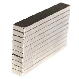 Магниты, мм онлайн-N50 супер сильный блок кубовидные магниты 60x10x4 мм редкоземельные неодимовые магниты