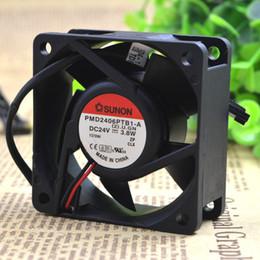 Built Standard for SUNON KD2406PTS1 6025 24V 1.4W 6CM Inverter Cooling Fan