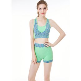 fc367a1548 Women Sport Yoga Bra Breathable Quick Dry Back Hollow Out Shockproof Push Up  Comfortable Set For Fitness Running Gym im