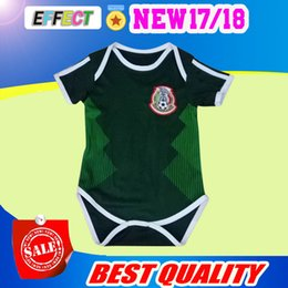 Wholesale Wholesale Shirts For Kids - Baby Jersey For 6 To 18 Month Baby 2018 World Cup Shirt Mexico Kid Jersey 2018 Baby Shirts