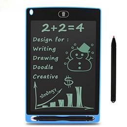 Tablet de Escrita Gráfica LCD, Desenho Durável e Placa de Escrita 8.5 polegada Presente para Crianças Escritório Escrita Board Presente na Escola, casa, escritório, carro fo de