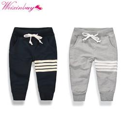 calças teenage boys Desconto 2017 novo menino coreano moda lazer algodão calças crianças ativo calças esportivas ao ar livre calças de cordão calças 1-10Y casual menino