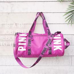 Gym Bag Fitness Shoulder for Shoes Waterproof Portable Training Bag Men  Women Yoga Sport Travel Handbags eca1156b4f