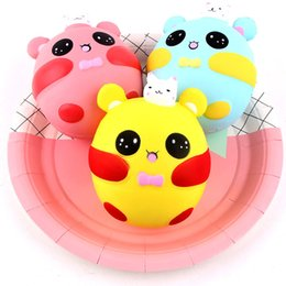 Squishy Jumbo 12CM Rabbit Pig Squishy Toy Kids Birthday Gift Gags Joke Toy Squeeze Slow Rising Decompression Toys DHL free