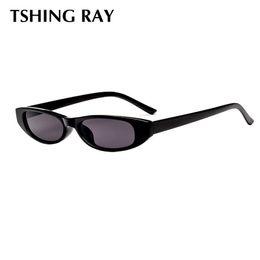1795eb15440 TSHING RAY Vintage Sunglasses Women Rectangle Brand Designer Sunglass Small  Frame Cayeye Sun Glasses Black Eyewear UV400