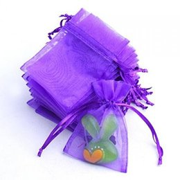 Wholesale Organza Wedding Favours - 100 Pcs Organza Wedding Favour Bags Jewellery Pouches Green