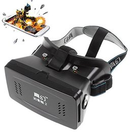 Argentina RITECH II Montaje en cabeza Plástico Versión en 3D VR Gafas de realidad virtual Juegos de películas de cartón de Google para teléfonos inteligentes de 3,5 a 6 pulgadas cheap 3d glasses plastics Suministro