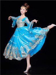 Wholesale adult indian costumes - Women Performance belly dance clothes India belly dance costume girls red dance clothing Adult Fashion Indian Clothes