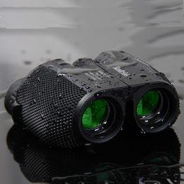 10x25 HD все-оптическая зеленая пленка водонепроницаемый бинокль телескоп Bak4 Призма профессиональный охота оптический Спорт на открытом воздухе окуляр от