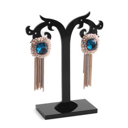 Wholesale Necklace Tree Holder - New Style 1 Set Tree Shaped Jewelry Display Stand Holder Fashion Acrylic Earring Jewelry Packaging & Display