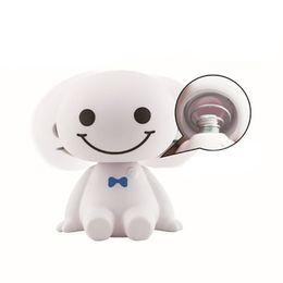 Biety Big blanc créatif voiture décoration voiture mignon bijoux petite poupée secouant la tête poupée fournitures ? partir de fabricateur
