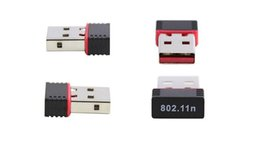 Wholesale USB150M wireless network adapter WiFi receiver transmitter MT7601 chip 802.11n Ethernet for network type da