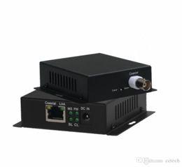 Canada Transmetteur IP réel / coaxial IP 2000m 10 / 100M 1 Extension BNC vers port RJ45 Extension CCTV HD Vidéo IP Ethernet Extension Ethernet sur câble coaxial supplier ethernet cable extender Offre