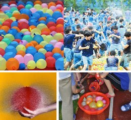 Wholesale Toy Balloons - Water Balloon Summer Water Balloon Water-filled Balloon Chindren Beach Toys summer beach toys children Water Toys Free Shipping