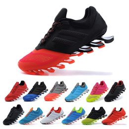 Wholesale Driving Shoes For Men - 2015 Springblade Drive 2.0 Shoes running size 40-45 for men sport running black with green color hot sale fashion Sports
