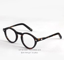 71f13e4afb0 Discount johnny sunglasses - SPEIKE Customized eyewear MILTZEN style 46mm  1915 Eyeglasses johnny depp round frame