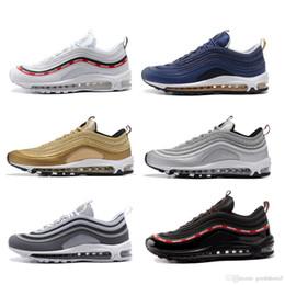 Wholesale Cheap White Men Dressing Shoe - cheap wholesale Discount Brand mens air 97 shoes black running dress leisure shoes athletic trainers walking sneakers men casual shoes