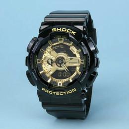 нейтральные женские часы Скидка Новая мода мужские и женские спортивные часы высокого качества двойные часы LED водонепроницаемые часы многофункциональные цифровые электронные нейтральные часы.
