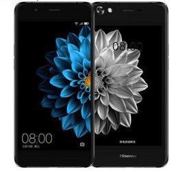 Wholesale Ebook Ink - The newest Hisense A2 double screen mobile phone with 3090mah battery fast charger and fingerprint 5.2 ink screen phone