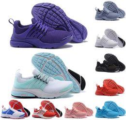 new product e1071 a2749 baskets presto Promotion nike air presto Hot presto hommes femmes chaussures  de course Comft rouge formateurs