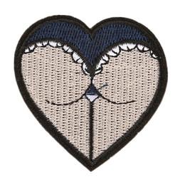 Broderie Patch Fille Femmes Fesses Coeur Forme Coudre Fer Sur Brodé Patchs Badges Pour Sac Jeans Chapeau T Shirt DIY Appliques Artisanat Décoration ? partir de fabricateur