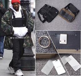 Sacs à dos de style hanche en Ligne-Alyx cross sac à bandoulière Sacs à dos Nouveau sac de poitrine fonctionnel hip hop streetwear fonctionnel kanye west