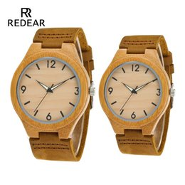 81eb78dd1710 Sin Logo Lover s Watches Night Light Pointer Relojes de madera Correa de  cuero real Reloj femenino Mejor regalo masculino logotipo de reloj de madera  outlet