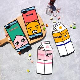 Картонные коробки онлайн-Чехол для iPhone X мода еды милый японский мультфильм Лев и пердеть персик молоко коробка защитный силиконовый чехол для Apple iPhone 6S Plus
