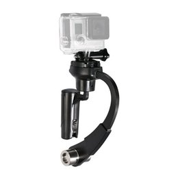 Wholesale Gyro Gopro - Action Camera 3-Axis Inertia Gyro Stabilizer Mini Handheld Video Stabilizer Support for GoPro Hero 5 Black Hero 4 Silver Session APEMAN