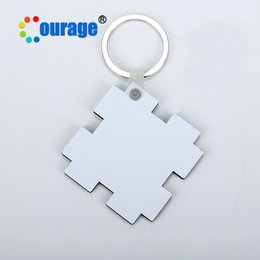 Wholesale photo frame key - MDF Wood Key Buckle Heat Transfer Printing Picture Coating Originality DIY Lovely Keychain Cork Material Heart Star Round 1 5kr hh