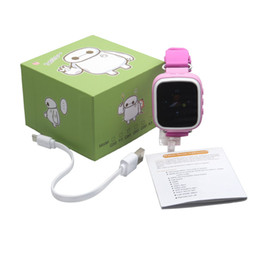 Wholesale Sos Devices - Q80 Kids GPS Tracker Safe Smart Watch Location Device SOS Call Anti Lost kids digital watch for IOS Android Q50 new smart watches DHL