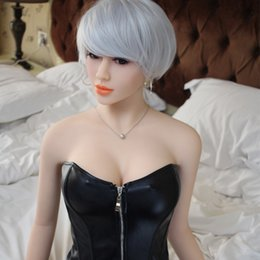 Wholesale Chinese Love Dolls - 158cm Japanese sexy mannequin chinese factory 100% Real Silicone China Sex Doll Angel Adult Love Doll For Man