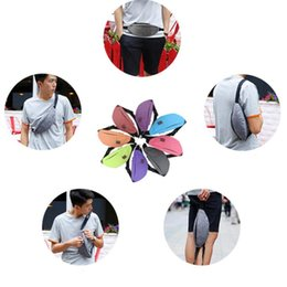 Wholesale Jogging Chest Pack - Women Waist Pack Fashion Waterproof Nylon Ladies Chest Bag for Men and Women Jogging Bum Waist Pouch Waist bag KKA4306