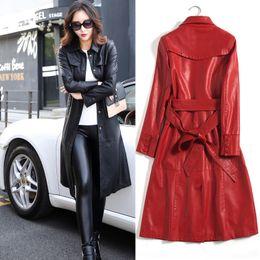 30d8fd138 Discount Womens Long Black Leather Jacket | Womens Long Black ...