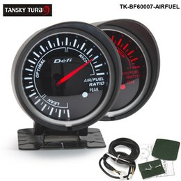 Wholesale Fuel Meter - Tansky Universal Cars   Vehicle RATIO AIR FUEL Meter   Gauge Defi 60mm RATIO AIR FUEL GAUGE Black Bracket TK-BF60007-AIR FUEL