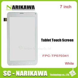 Wholesale Handwritten Screen - Wholesale- 7Inch FPC-TP070341 FPC-TPO034 Glass For Cube Talk 7X (u51gt)Touch screen capacitance panel handwritten white or black