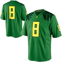b981155a928e0 tamanhos de camisa de futebol americano Desconto Mens Oregon Ducks Marcus  Mariota Costurado NameNumber American College