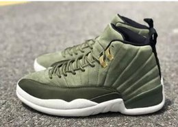 2021 zapatos cp3 verde Con Box 12s Graduation Pack Chris Paul Clase de 2003 zapatos de baloncesto para hombre CP3 Green Suede XII zapatillas deportivas 12 Michigan UNC athletics