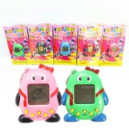 Wholesale Penguin For Sale - Hot Sale Mini Plastic Electronic Digital Pet Penguins Funny Toys Handheld Game Machine For Gift