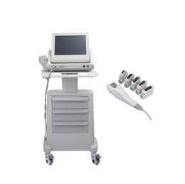 HIFU de grado médico Real EE. UU. Estándar de alta intensidad Enfocado por ultrasonido Hifu Lifting facial Hifu que adelgaza la máquina con 3 o 5 puntas desde fabricantes