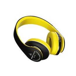 Wholesale Over Ear Headphones Yellow - JKR 213 Bluetooth headphones stereo Wired wireless headphones Bluetooth 3 headset over the Ear For PC Laptop Phone