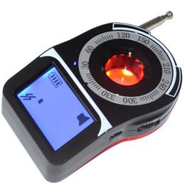 Detector de lentes rf on-line-Novo CC309 Banda Completa Sinal Bug RF Detector Da Câmera 1.6 '' Câmera de Tela Localizador de Lente A Laser Detector Sem Fio Portátil Anti Monitor