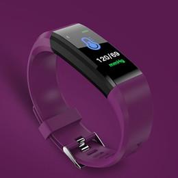 câmera mais monitor Desconto Smartch id115 hr plus inteligente pulseira gps rastreador de fitness assista monitor de freqüência cardíaca passo contador de controle da câmera pulseira pk fit b