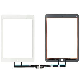 DHL Tarafından 50 ADET iPad Pro 9.7 '' Dokunmatik Ekran Digitizer Üst Dış Cam Panel Parçası Siyah veya Beyaz Ücretsiz Kargo nereden