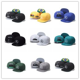 champions sports Promo Codes - Top Sale Good Quality Snapback Hat F1 Champion Racing Sports    AMG Automobile Trucker Men Hats Adjustable Golf Cap Sun Trucker Hat
