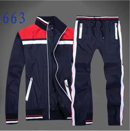 Wholesale cheap long cardigans - Wholesale-men's full zip polo tracksuit men sport suit cheap men sweatshirt and pant suit hoodie and pant set sweatsuit men