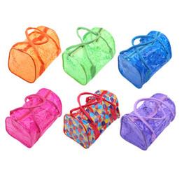 24f66f9dcb Women Swimming Waterproof Handbags Transparent PVC Plastic Pouch Beach Bags  Organizer Sack Swimming Bag Letter Print Totes cheap pvc beach tote bag