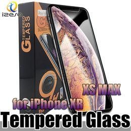 Pour Apple iPhone XR XS MAX X 8 7 Protecteur d'écran en verre trempé 9H 2.5D Film transparent avec emballage au meilleur prix ? partir de fabricateur